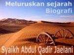 Mengoreksi Kitab manaqib Syaikh Abdul Qadir Al-Jailani