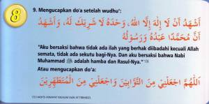 Wudhu Sesuai Sunnah 8